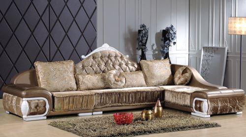 皮布结合的沙发 给你动静皆宜的家居创意