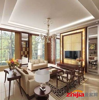 客厅地板砖的选择 风格迥异效果图大挑选