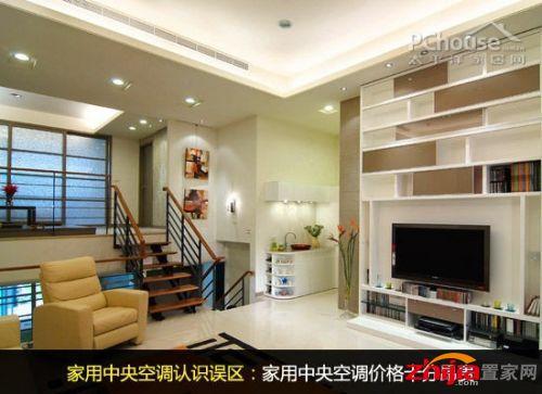 家用中央空调出风口欧式风格装修图片