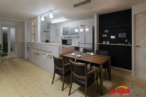 part1:厨房设计 装饰tips:开放式的厨房,将实用美观的餐桌紧密相连