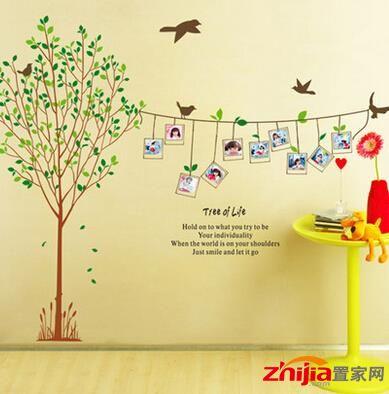 树木形照片墙