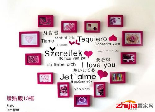 5种浪漫照片墙制作方法大全 浪漫照片墙图片