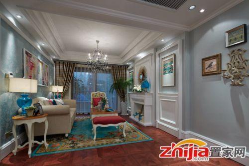 法式装修风格,法式装修案例,小户型装修,小户型案例,客厅设计