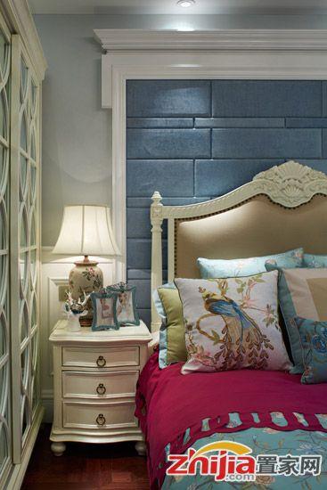 法式装修风格,法式装修案例,小户型装修,小户型案例,卧室设计