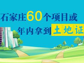 石家庄60个项目或年内拿到土地证