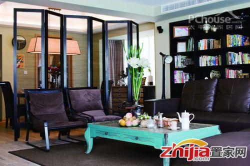 中式混搭现代 打造旗袍韵味的怀旧复古家