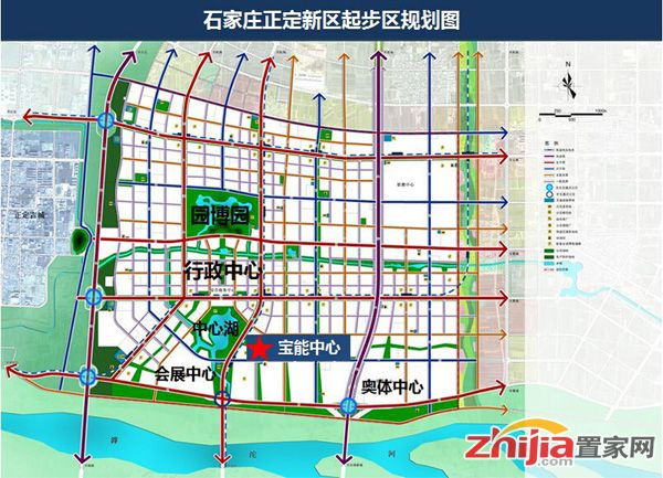 石家庄宝能中心正定新区商务综合体 已开始动工