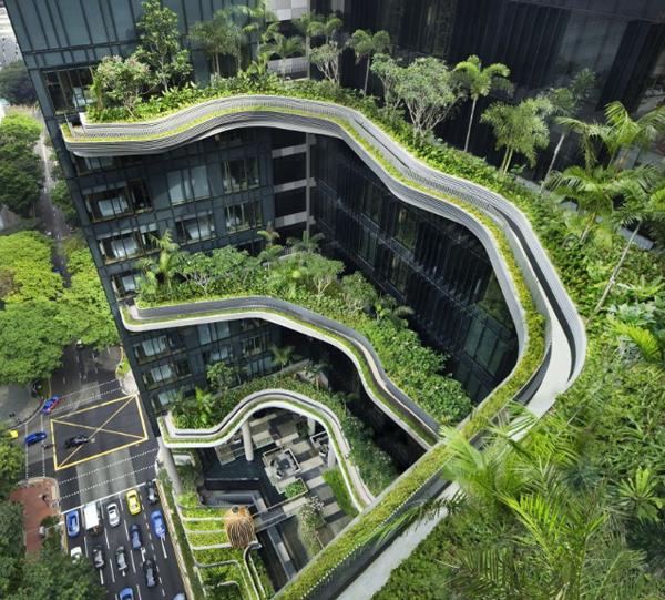 世界之门 空中花园万众创业社区图片