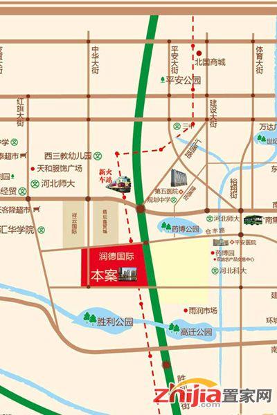 润德天悦城二中入驻 临规划地铁2、4号线