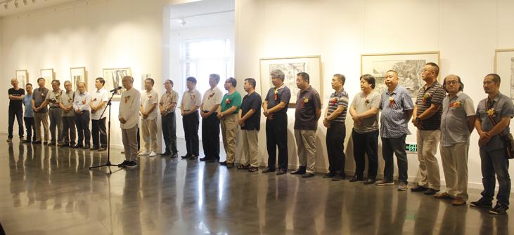 麓语—中国当代中青年水墨邀请展在麓美术馆开幕