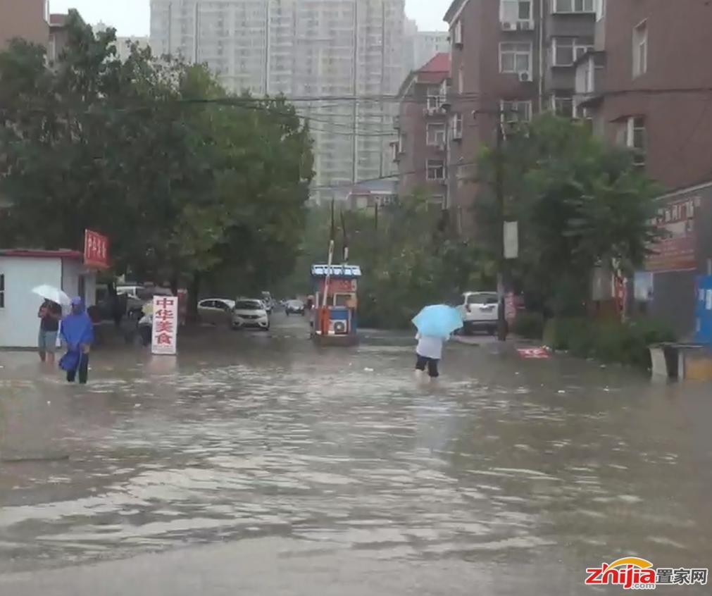 石市暴雨塔坛居民及周边群众受水灾影响严重