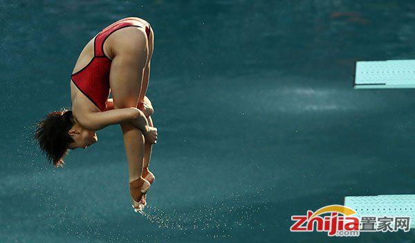 第14金!跳水女子3米板 施廷懋何姿包揽冠亚军
