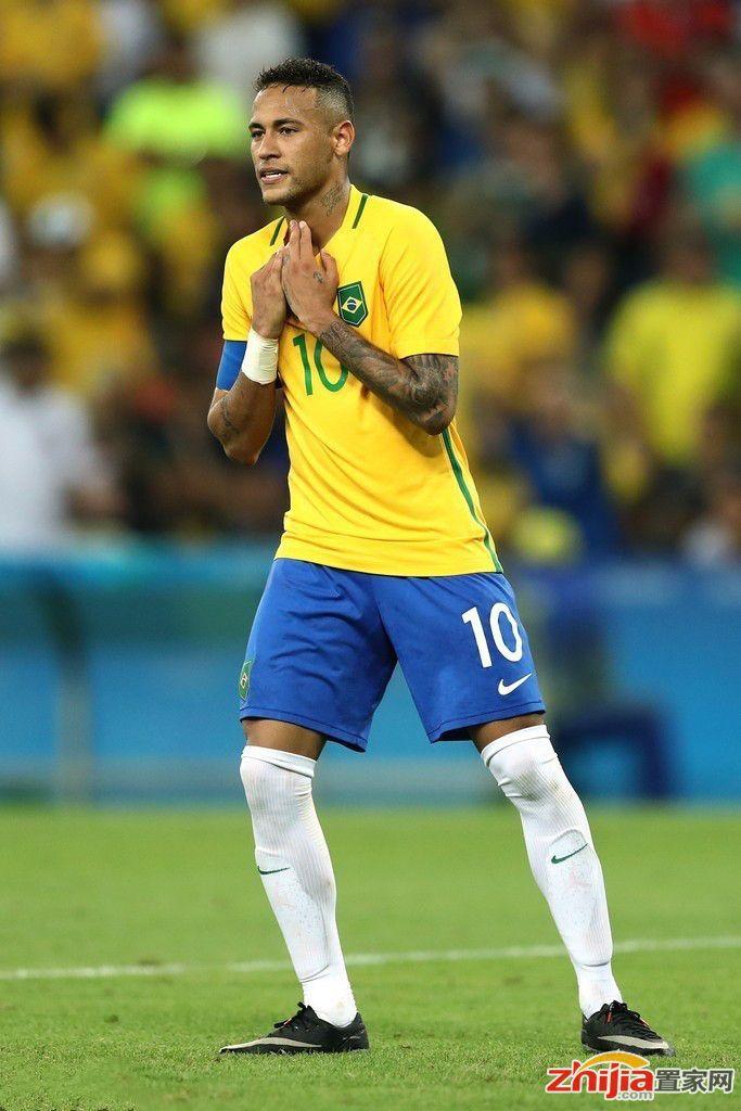 内马尔破门+点球绝杀 巴西6-5德国首夺奥运金牌