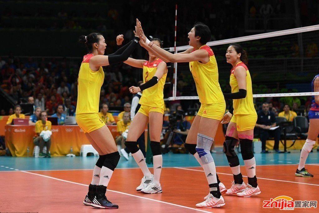 中国女排3-1塞尔维亚 时隔12年后再夺奥运金牌