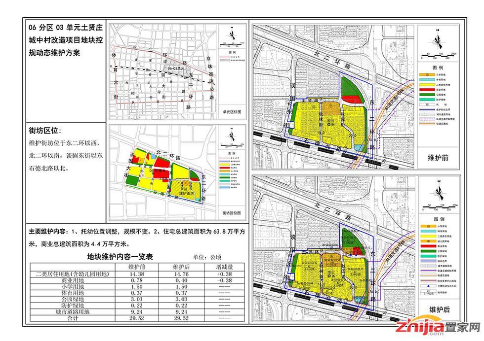 石家庄中心城区7个地块控制性详细规划作出调整