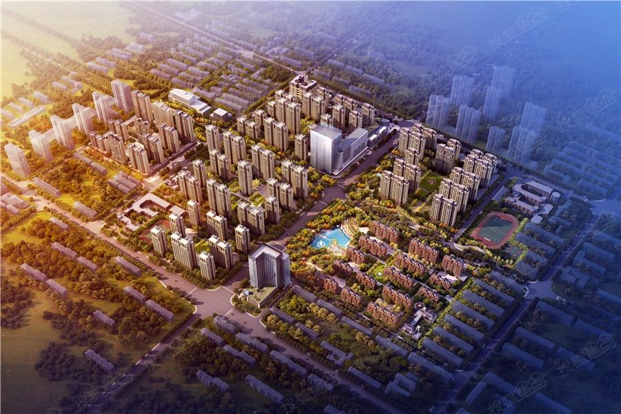 尚宾城柏林庄旧村改造项目三期建围挡