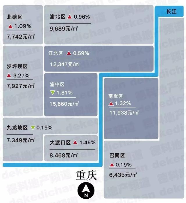 15座热门城市房价地图(12月版)︱2016