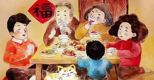 鸡年大吉 你真的知道年夜饭吗?