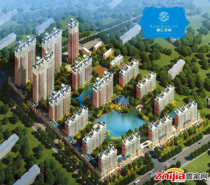 御江景城 紧邻地铁 东杜庄城中村改造