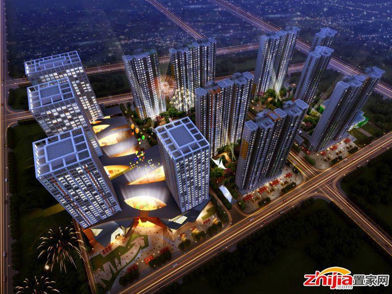 安联新青年广场三期住宅规划中