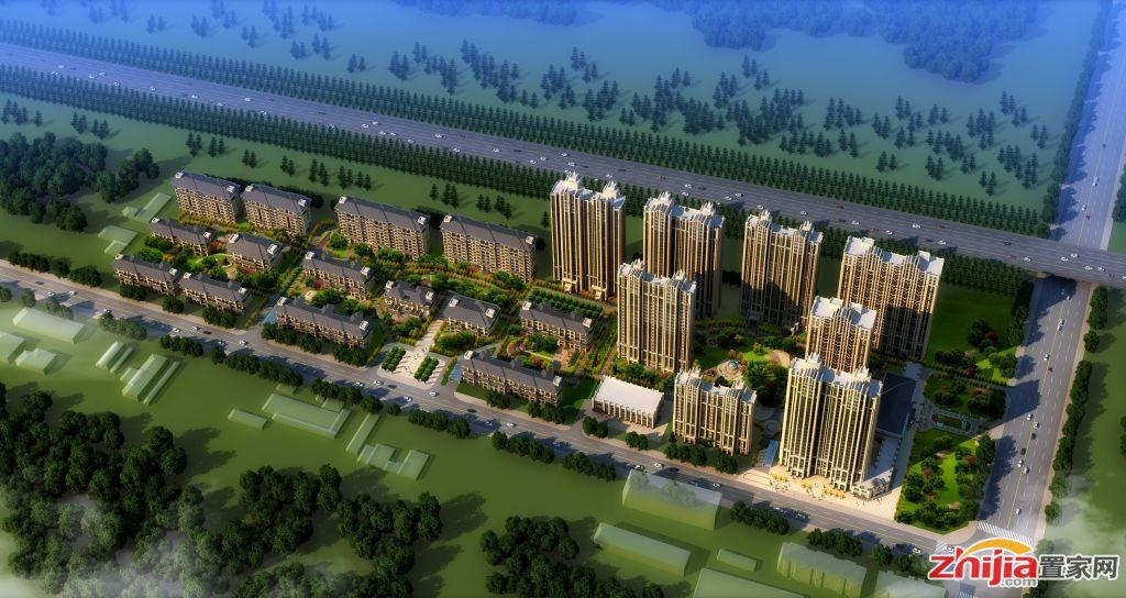 乾园·燕熙台中华北大街五证高层