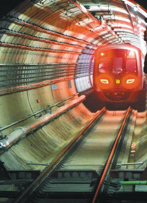 地铁1号线今日模拟试运行2月底前1、3号线首开段将进入试运行阶段