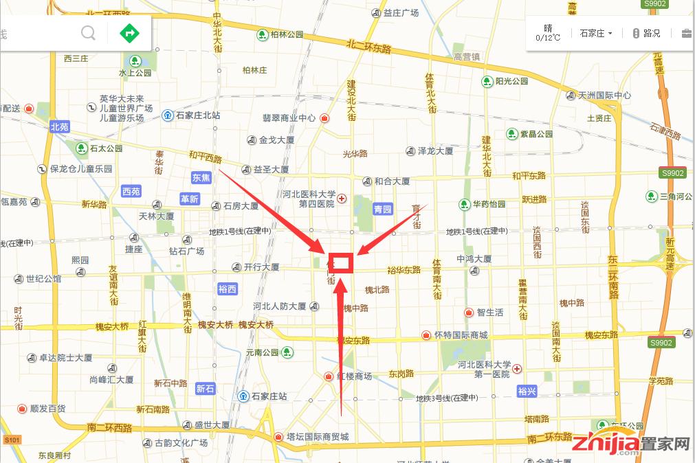 爆料!富力地产进军石家庄核心商圈!
