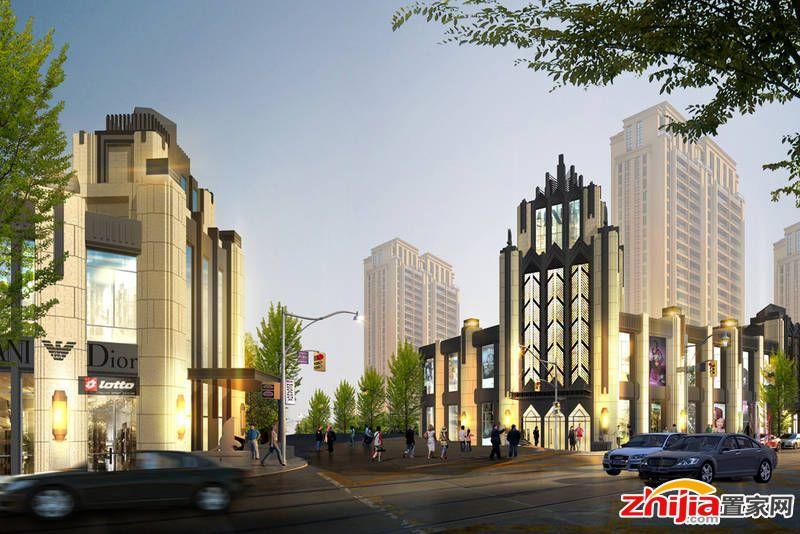 中加文化主题商业街区