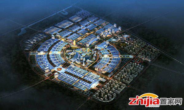 石家庄乐城国际贸易城总投资800亿元,集体签约入驻