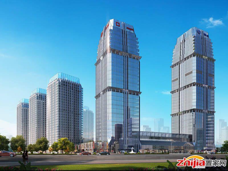 石家庄宝能中心临街商铺起价60万/套