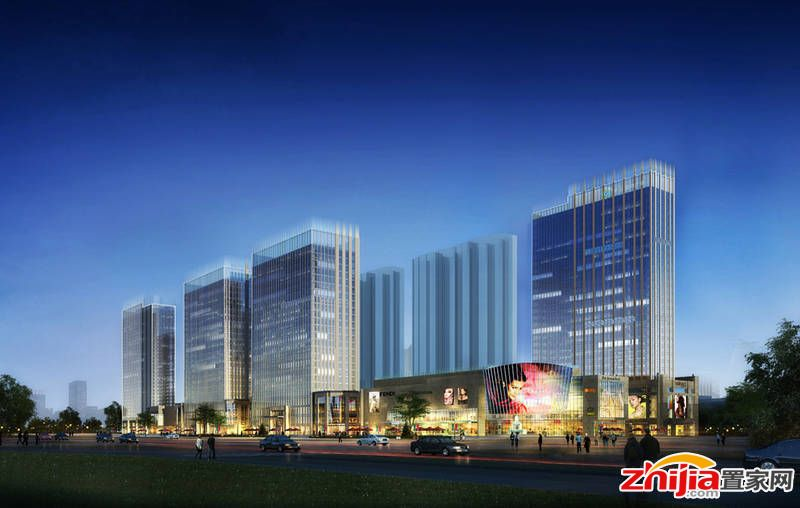 天山·银河广场规划有公寓、住宅及商业