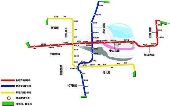 石家庄人看过来,石家庄地铁一号线40分钟跑全程