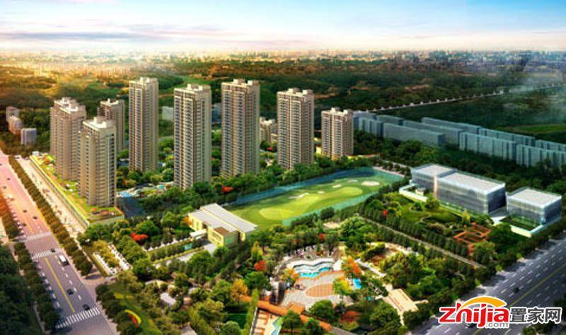想象国际——开发区五证实景住宅社区接受咨询中