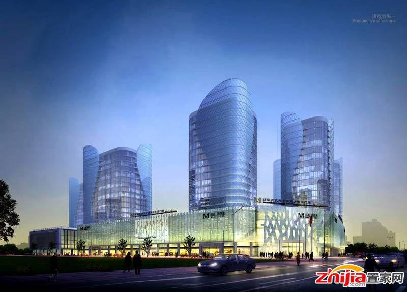 中储广场五证综合体已封顶均价12000