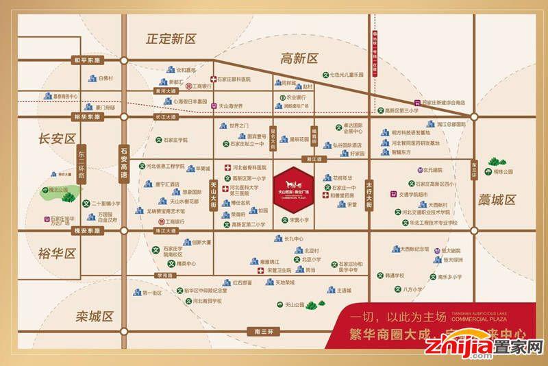 天山熙湖商业广场规划丰富