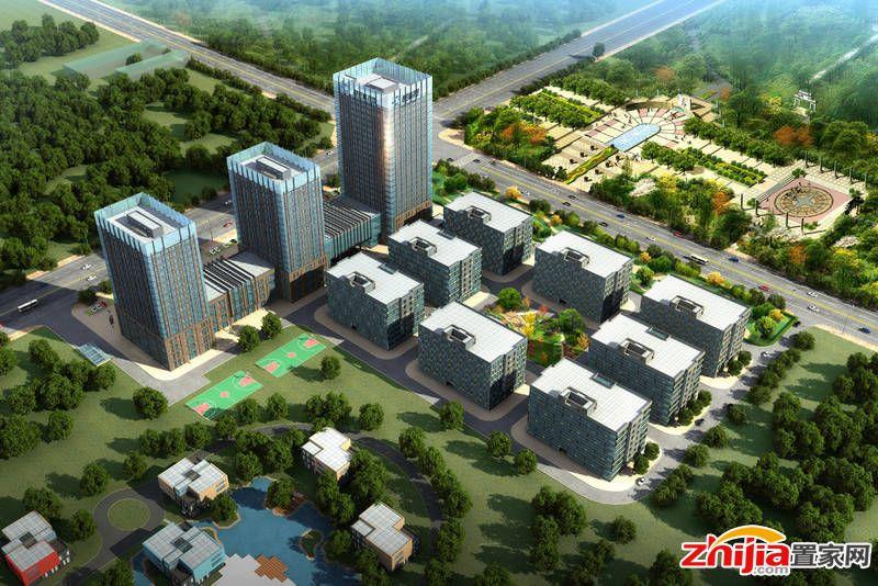 慧谷科技园总占地面积8万平