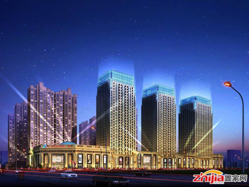 半岛国际建华城市广场 中山路与建华大街顺利施工中