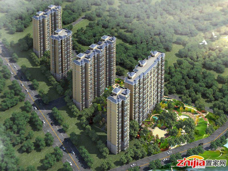 上澜亭共规划5栋18层高层