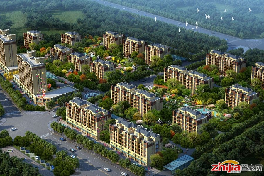 阿尔卡迪亚荣盛城—红旗大街改造盘前期规划
