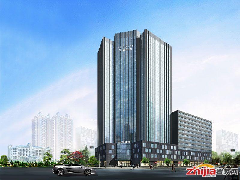 壹江国际中央广场中华大街旁封顶写字楼筹备中