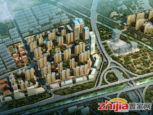 桃园丽璟城 北二环桃园村改造开始动工