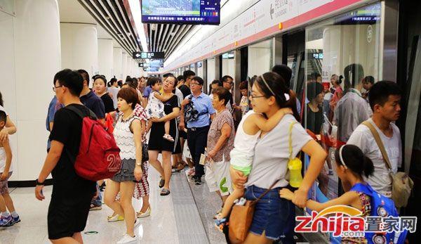 石家庄地铁通车首周客流量突破160万人次