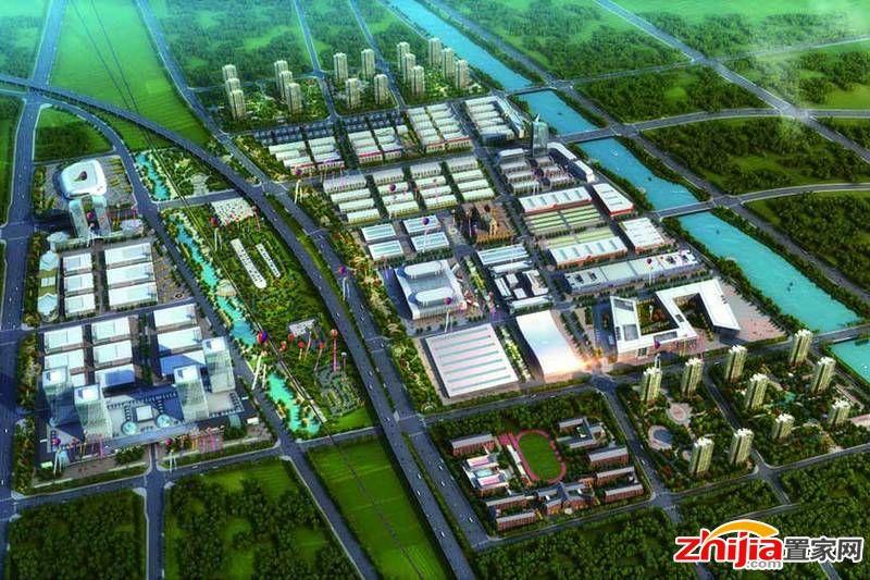 华北汽车文旅小镇—汽车产业园区2017年底完工