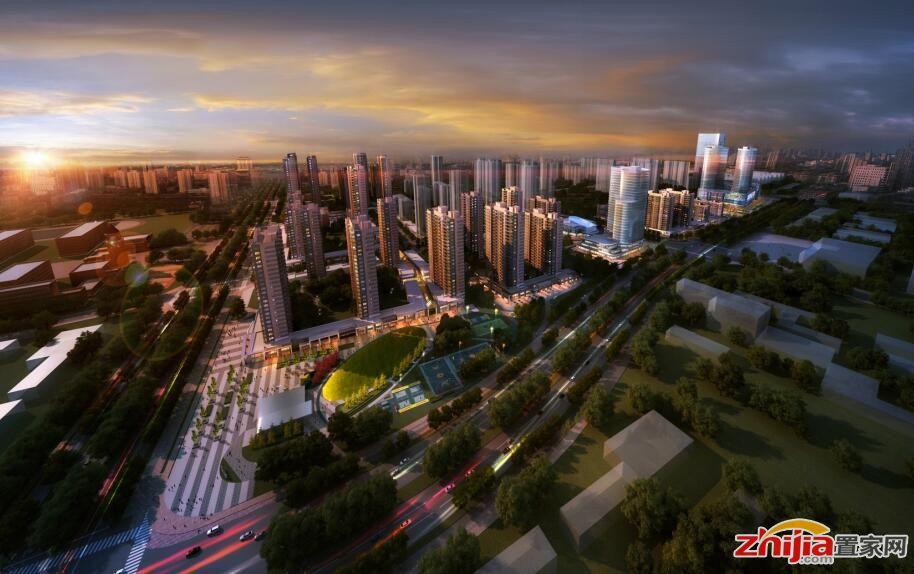 润德万科翡翠公园胜利大街精装高层住宅