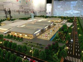 正定新区曝项目新进展 国际展览中心主体已封顶