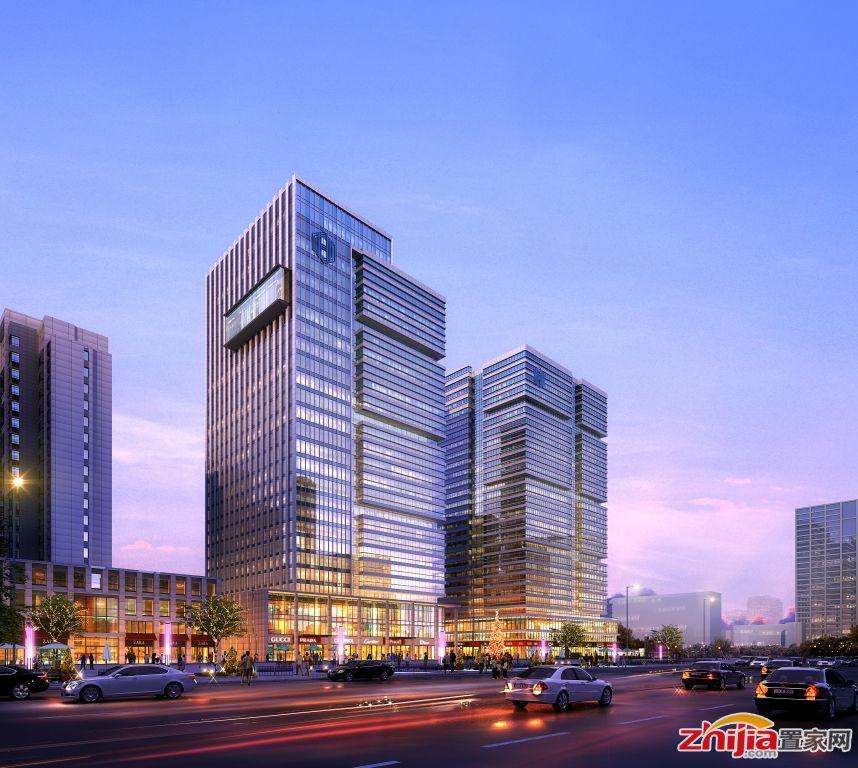 鸿昇广场槐安西路准现房写字楼14500元/平米