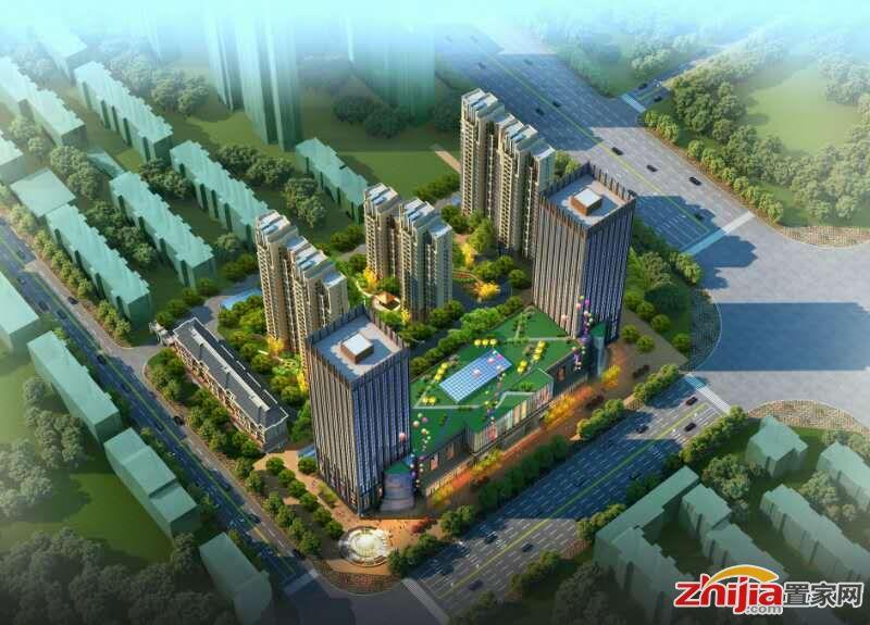 绿竹国际平安大街旁配套完善住宅