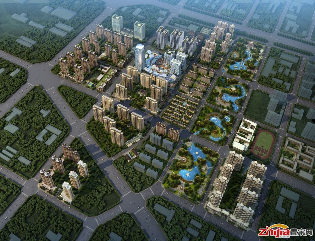 东南智汇城——涵盖智能高层庭院小高层等多元业态