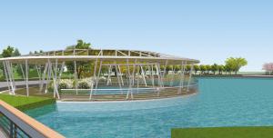 石家庄东北将新增一座大型公园 明年10月竣工