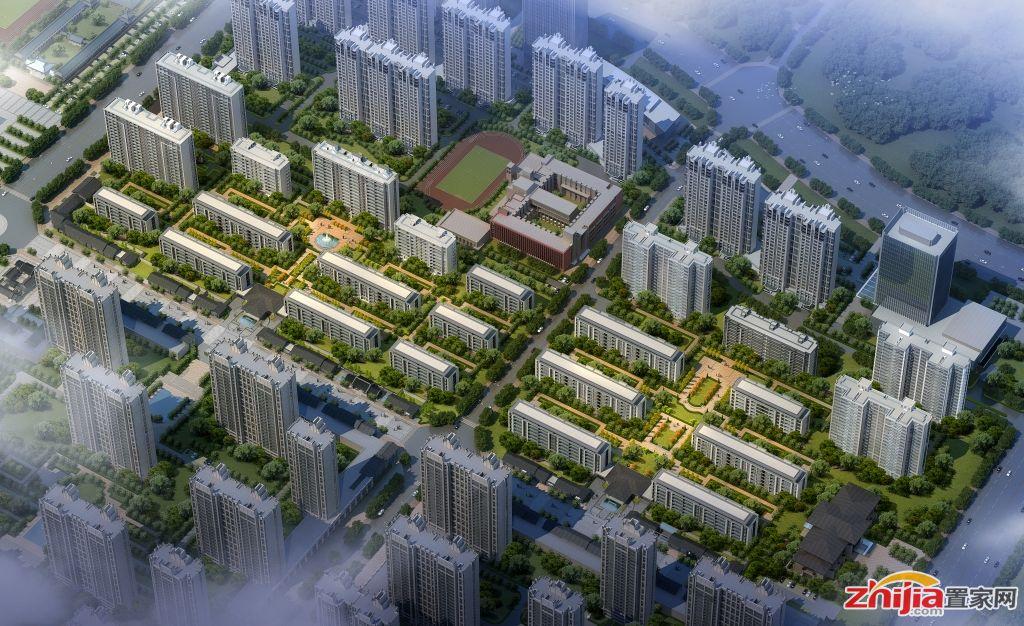 绿城诚园 由高层、花园洋房、法式合院组成